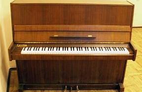 Pianino - aby móc zacząć naukę.