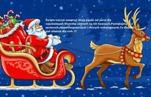 Święta tuż,tuż...wesprzyj akcję paczki od serca dla najuboższych.