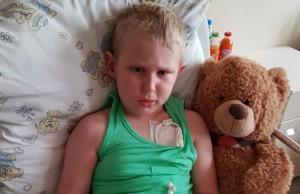 Pomóż dziecku w walce z guzem pnia mózgu